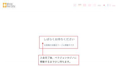 ベラジョンカジノ初回入金方法4