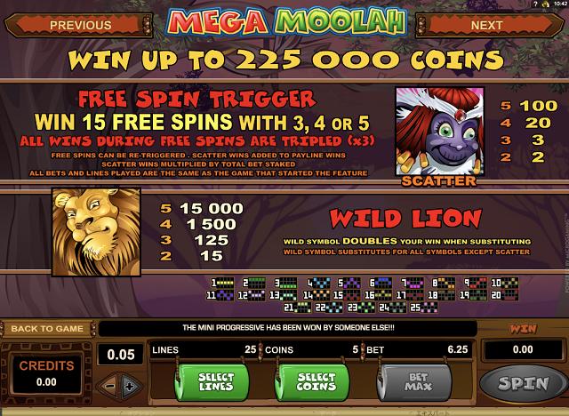 Mega Moolah(メガムーラ)は通常でも高額賞金を狙える!